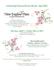 NE Poets Flyer